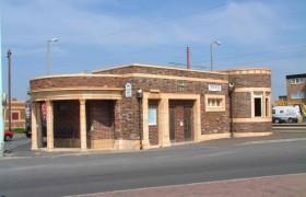 Blackpool tram station 3