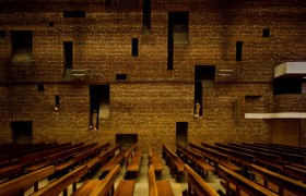 St Bride's, East Kilbride, Gillespie Kidd and Coia (Isi Metzstein and Andy Macmillan), 1964, Scottish Listing Category A, c. Dan Farrar