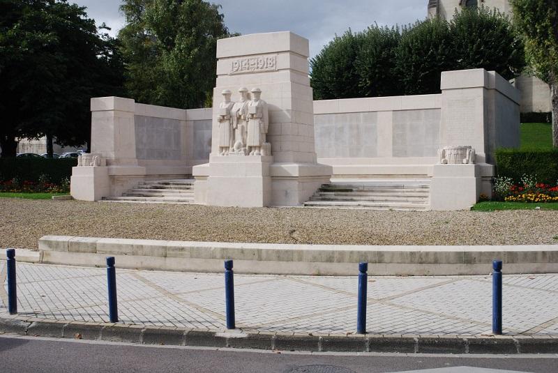 British War Memorials in France France British Memorial to