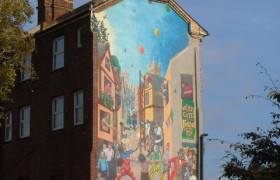 Westgate Mural, New Bridge Street, Exeter