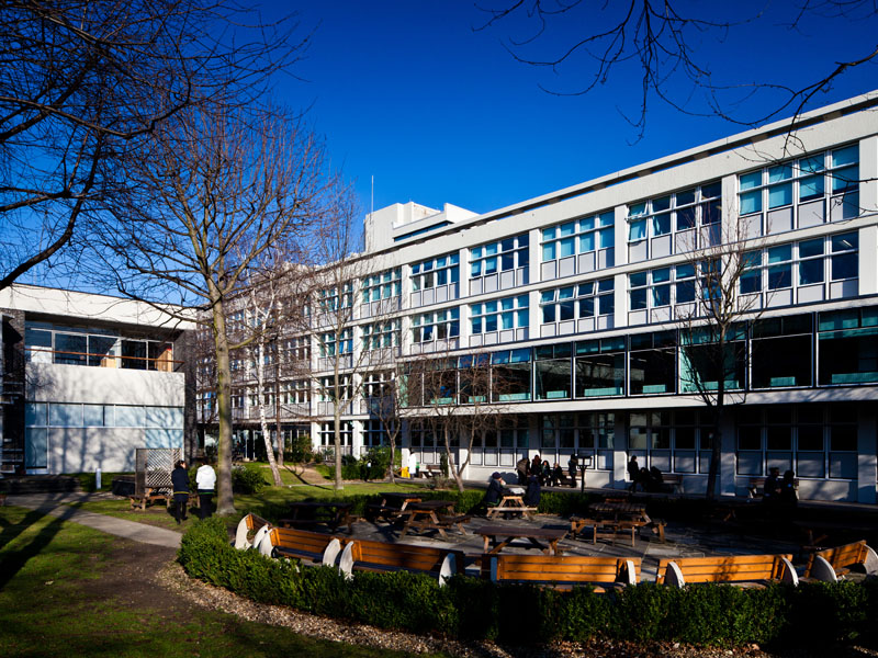 Haggerston School for Girls by Erno Goldfinger