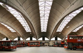 1954 - web Adie Button and Partners - Stockwell Bus Garage - 1950-54 (6)