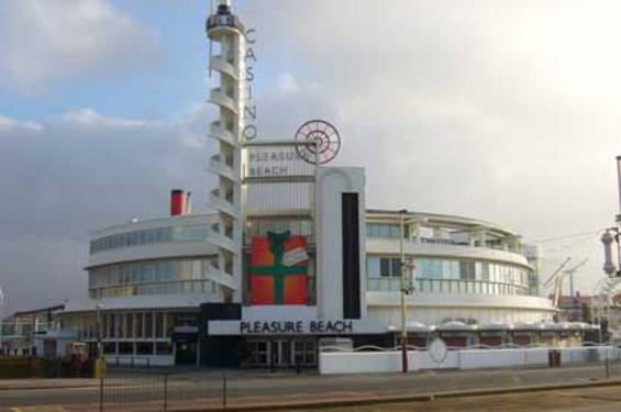 Casino building blackpool