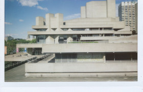 National Theatre by Denys Lasdun. photograph by matthewjoldfield