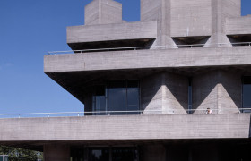 National Theatre, London, Denys Lasdun, photo c. Sarah Duncan